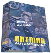 DC Batman Automobilia Collection Magazine Storage Binder Eaglemoss